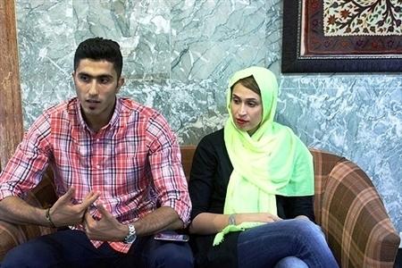 عکس های دیدنی از میرزاجانپور و همسرش/تصاویر