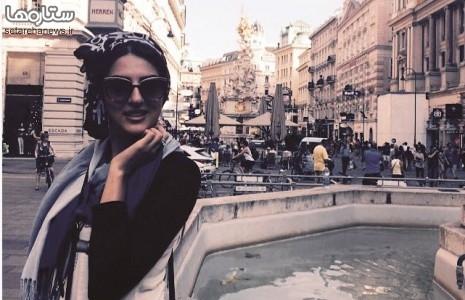 هلیا امامی در وین /عکس
