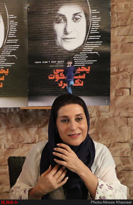 فاطمه معتمد آریا در نشست خبری فیلم یحیی سکوت نکرد