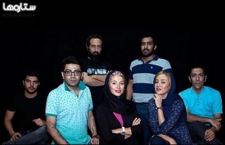 الناز حبیبی و فرزاد حسنی