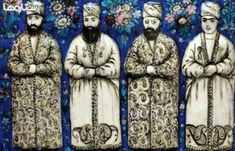 تعجب بازیگر زن از وجود کاشیهای دوره قاجاریه در موزههای اروپایی/عکس