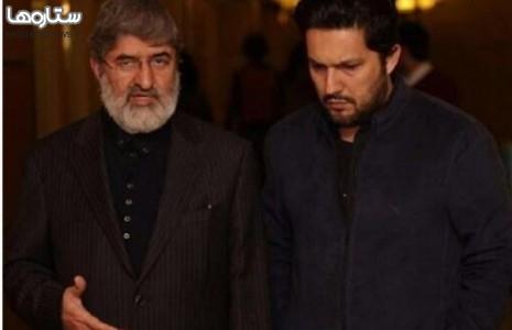 علی مطهری و حامد بهداد در جشنواره فیلم فجر/عکس