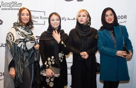 سپیده اعلائی ، شبنم فرشاد جو ، سحر زکریا و آنا نعمتی