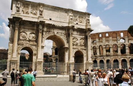 بناهای تاریخی شهر رم