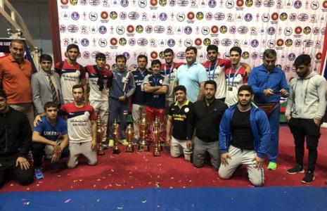 قهرمانی-تیم-کشتی-فرنگی-جوانان-در-جام-بینالمللی-گرجستان