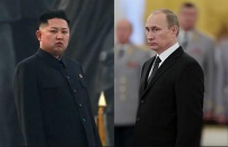 پوتین و رهبر کره شمالی