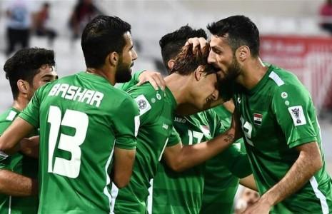 شادی خیابانی مردم عراق پس از بازی با ایران